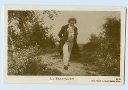 W9R62/ Beethoven  Foto AK 1936 - Zonder Classificatie