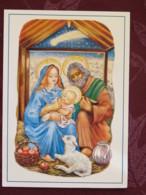 "Czechoslovakia 1992 Postcard ""Christmas - Apples - Sheep"" To Prague - Planes - Tschechoslowakei/CSSR"