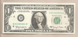 """USA - Banconota Circolata Da 1 Dollaro """"Ohio"""" P-443b - 1963 - Bilglietti Della Riserva Federale (1928-...)"""