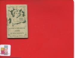 SALON Provence Huilerie Louis BRANDIS Almanach Porte Monnaie 1911 Illustré Angelot  Complet Imp Mouillot - Klein Formaat: 1901-20