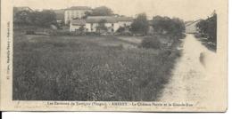 88 - Amerey (environs De Xertigny) - Le Château Perrin Et La Grande Rue - Other Municipalities
