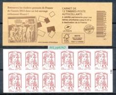TIMBRE - FRANCE - 2015 - CIAPPA - Carnet Lettre Prioritaire - Libretas