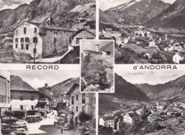 Cpsm 10x15 . VALLS D'ANDORRA  ANDORRE LA VIEILLE Record D' Andorra Multi-vues (+T.P. 8F Brun Dallay N° 146 / Côte 10 €) - Andorra