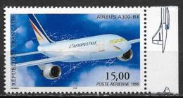 France 1999 Poste Aérienne N° 63a, Airbus A300 Cote 20 Euros - Poste Aérienne