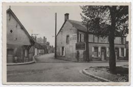 41 SOUESMES - Edts Combier - Rue Du 17 Juin, Route De Nançay. Hôtel Du Boeuf. - France