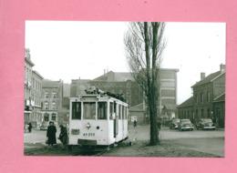 Photo  Statte  GARE  SNCB = TRAM Ligne  BIERWART  STATTE - Reproductions