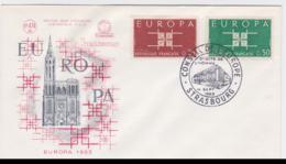 France 1963 FDC Europa CEPT (SKO16-47) - Europa-CEPT