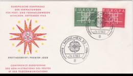 Germany 1963 FDC Europa CEPT (SKO16-47) - Europa-CEPT