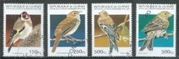 Guinée 1995 Oiseaux Oblitéré ° - Guinea (1958-...)