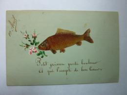 1er Avril - Petit Poisson Porte Bonheur, à Qui L'accepte De Bon Coeur - 1er Avril - Poisson D'avril