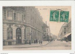 62 ARRAS HOTEL DES POSTES ET TELEGRAPHES CPA BON ETAT - Arras