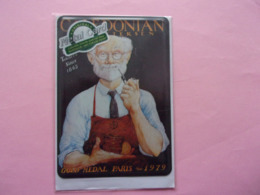 Nostalgic-Art Collection Berlin Original Métal Card CALEDONIAN Pipe à Tabac Pipa De Tabaco Tabacco Tabakwerbung - Plaques En Tôle (après 1960)