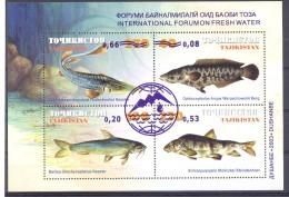 2003.Tajikistan, International Forum On Fresh Water, OP, S/s, Mint/** - Tayikistán