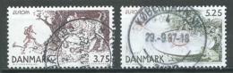 Danemark YT N°1161/1162 Europa 1997 Contes Et Légendes Oblitéré ° - Europa-CEPT