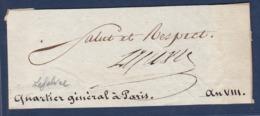 AUTOGRAPHE SUR FRAGMENT: FRANCOIS JOSEPH LEFEBVRE MARECHAL D'EMPIRE DUC DE DANTZIG - Autographs