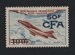 W26 Réunion CFA °°  PA 52 Avion Mystère - Unused Stamps