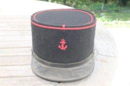 Képi Troupe De L'infanterie De Marine - Cascos