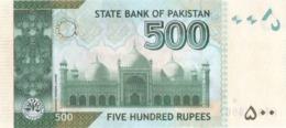 Pakistan UNC Banknote, Re.500/-, Tariq Bajwa Signature, Year 2018-JU - Pakistan