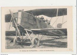 CAMP DE COETQUIDAN AVION DE BOMBARDEMENT CPA BON ETAT - 1919-1938: Entre Guerres