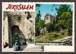 69288/ JERUSALEM, The Pool Of Siloam + St. Peter's Church Of Gallicantu - Giordania