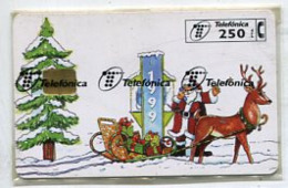 TK 11464 CHRISTMAS -Spain - Chip 16000 Ex. MINT & Sealed - Natale