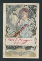 GREGOIRE. Collection Des Cent, Paris. N°10. Art Nouveau. Cartophile-Club. Sté. Amis De La Carte Postale. RARE 2 Scans. - Illustrators & Photographers