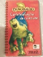 Disney DINOSAURI CARTE Telefoniche Da Collezione, Album +8 Schede Diverse Entra €€€ Per Descrizione - Phonecards
