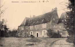 Carte Postale Ancienne - Croixdalle (76)(Seine-Maritime) - Le Château De Beauval - France