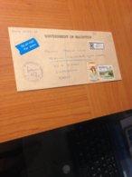 Lettre  GOVERNMENT OF MAURITIUS Pour  CASABLANCA  (maroc) 1995- Affranchisement Réduit - ( Port Offert ) - Mauritius (1968-...)