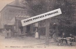 27 - GISORS - CAFE DE LA GARE - Gisors
