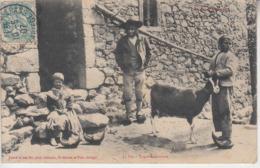 Types Aulusiens ( Aulus ) Chèvre Sabot - Altri Comuni