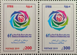 Syria 2019 NEW MNH Stamps - 61st Damascus International Fair, Flower - Syria