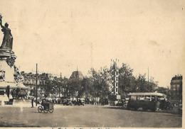 CPA PARIS Place De La République - Places, Squares