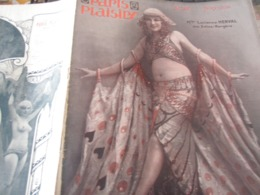 PARIS PLAISIRS 28 /LUCIENNE HERVAL/CASINO PARIS/SOEURS IRVIN/FOLIES BERGERES/CHAMPSAUR /BOXEUSE - Books, Magazines, Comics