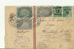 DR GS 1923 KONIGSWALDE - Entiers Postaux