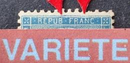 """R1917/293 - CERES N°37b """" Tirage De La Commune """"  SUPERBE VARIETE ➤➤➤ Cadre Ondulé Et Enfoncé (en Haut Et à Droite) - 1870 Siege Of Paris"""