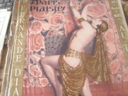 PARIS PLAISIRS 30/FERNANDE DIAMANT / LA CIGALE/ RANSON /YVETTE DERNYS /POPESCO CHENAL BELL MARQUET /SOEURS BIANCHI - Livres, BD, Revues