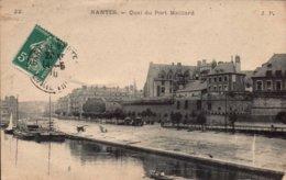Dep 44 , Cpa NANTES  , Quai Du Port Maillard , 22 (2631) - Nantes