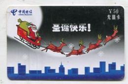 TK 11513 CHRISTMAS - China - Prepaid - Natale