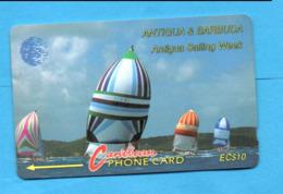 ANTIQUA & BARBUDA  Magnetic GPT Phonecard - Antigua En Barbuda