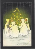 CPA MUNK VIENNE 404 Pauli EBNER Circulé Noël - Vienne