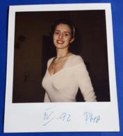 Vintage SEXY PIN-UP GIRL Photo - POLAROID Portrait - Hübsche Junge Frau, Jolie Jeune Femme, Pretty Young Woman [19-855] - Pin-Ups