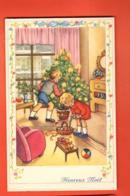 MTX-42 Heureux Noel, Sapin Et Enfants, Cadeaux. Circulé Avec Timbre Pro Juventute 1962 - Weihnachten