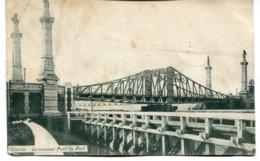 CPA - Carte Postale - Belgique - Ostende - Le Nouveau Pont Du Port - 1908 (I10027) - Oostende