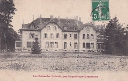 LES BEZARDS  PAR NOGENT SUR VERNISSON  +  CACHET BOITE RURALE  LETTRE B - France