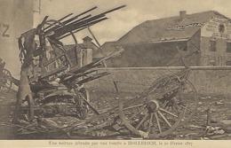 Une Voiture Détruite  Par Une Bombe à Hollerich , Place Wallis,  Le 10 Février 1917  -  Edit. Théo Wirol,Luxembourg-Gare - 1914-18