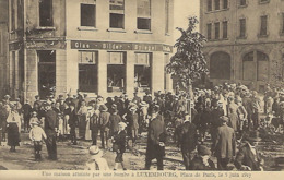 Une Maison Atteinte Par Une Bombe à Luxembourg,Place De Paris,le 10 Février 1917  -  Edit. Théo Wirol,Luxembourg-Gare - 1914-18