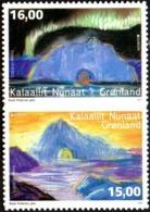 CEPT / Europa 2017 Groenland, N° 728_a Et 729_a ** Autoadhésifs. Architecture - 2017