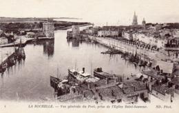 CPA - LA ROCHELLE - VUE GENERALE DU PORT - La Rochelle