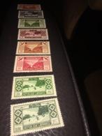 """""""Lebanon Stamps 1955 New. Never Hinged. Scott 200-6"""" - Liban"""